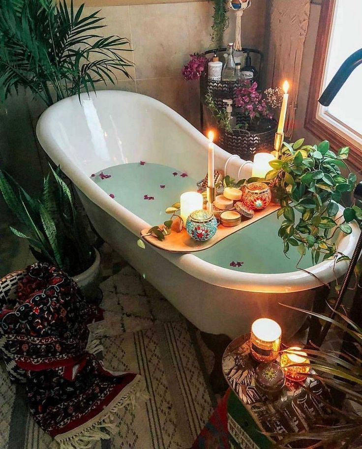 Amazing Bohemian Style Bathroom Decor Ideas 03