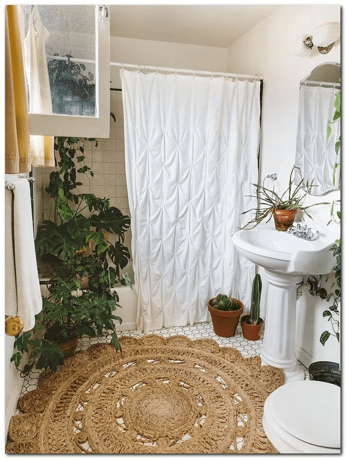 Amazing Bohemian Style Bathroom Decor Ideas 09