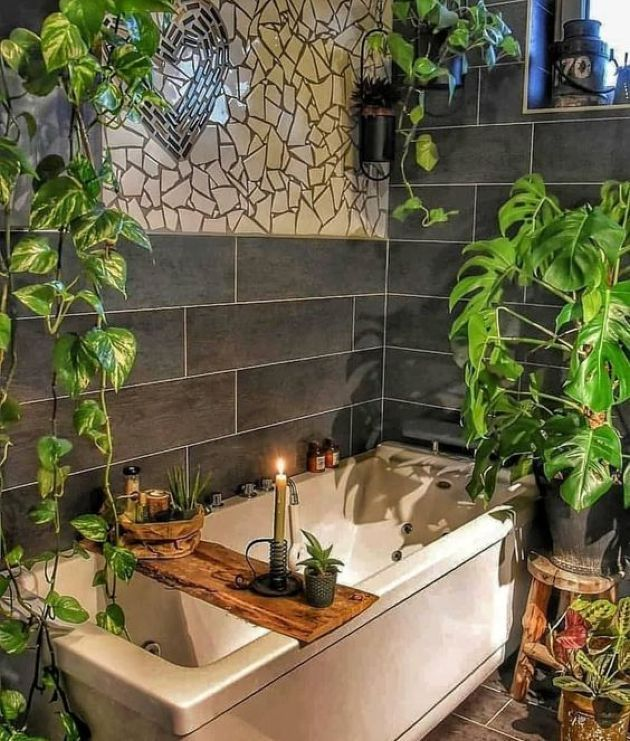 Amazing Bohemian Style Bathroom Decor Ideas 10