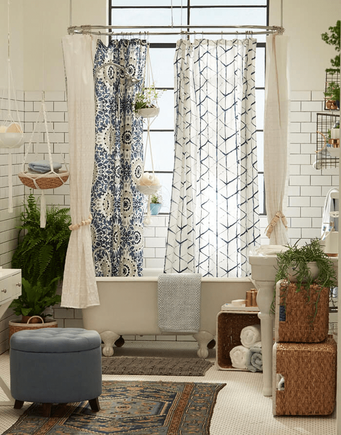 Amazing Bohemian Style Bathroom Decor Ideas 19