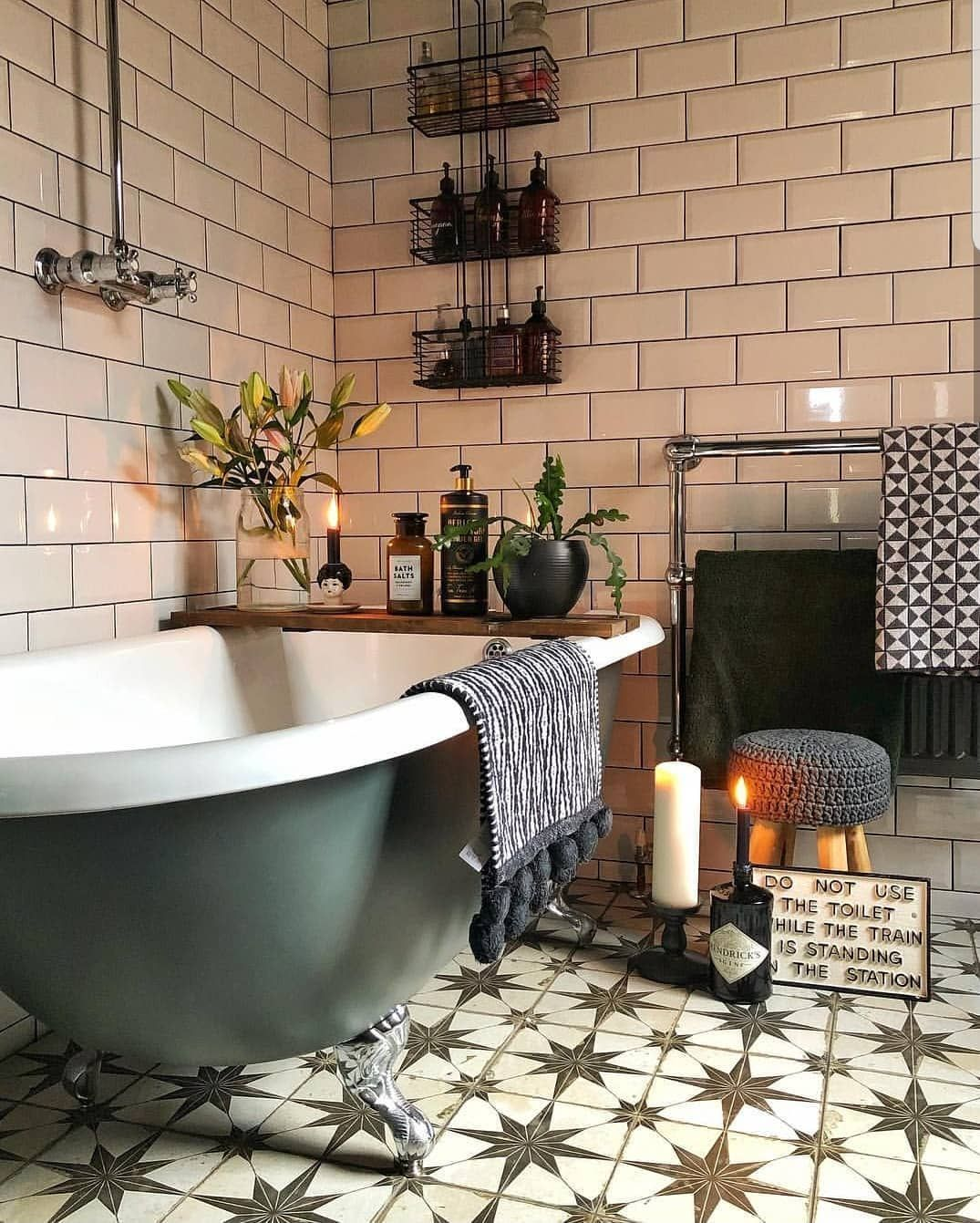 Amazing Bohemian Style Bathroom Decor Ideas 24
