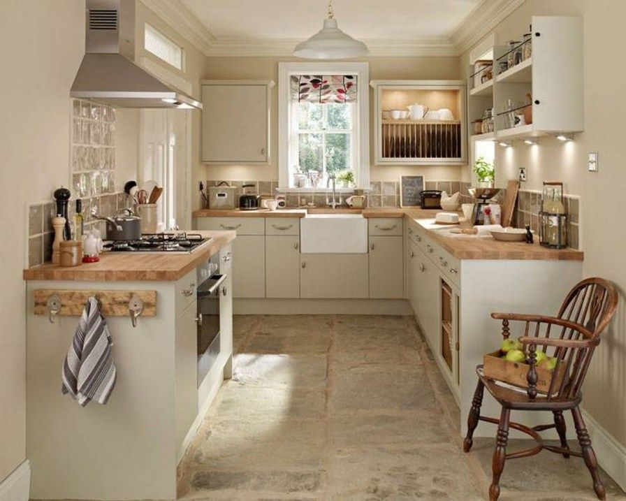 Awesome Cottage Kitchens Design Ideas 03
