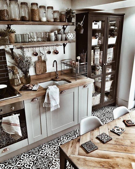 Awesome Cottage Kitchens Design Ideas 19
