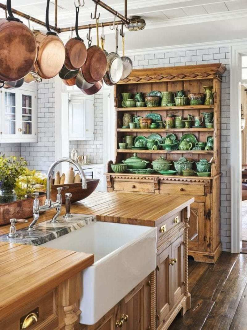 Awesome Cottage Kitchens Design Ideas 27
