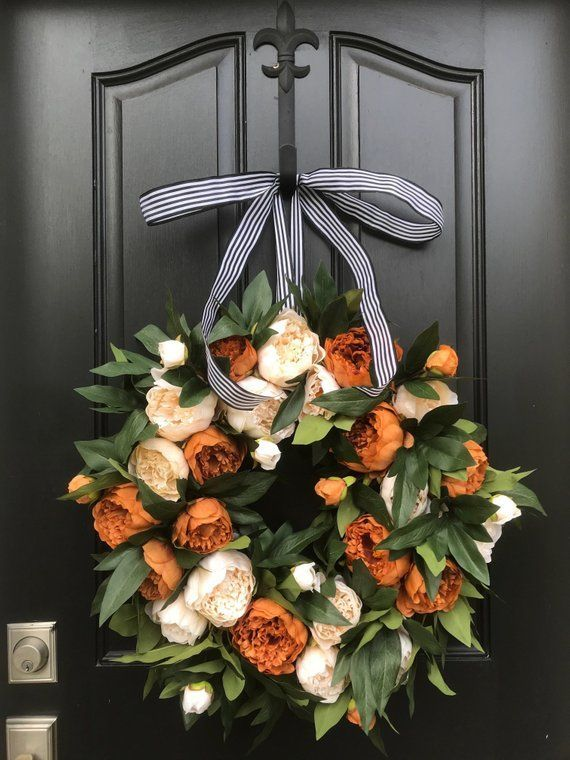 Awesome Thanksgiving Front Door Decor Ideas 14
