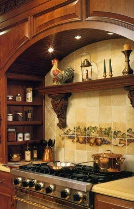 Awesome Tuscan Kitchen Decoration Ideas 04