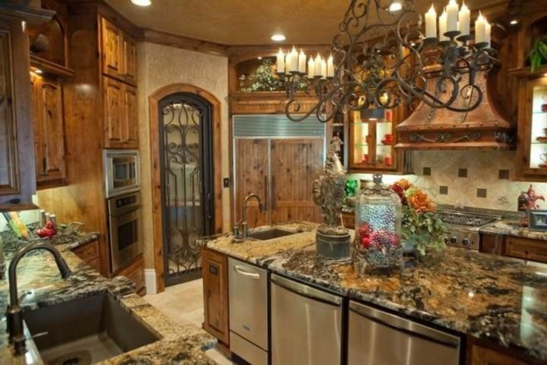 Awesome Tuscan Kitchen Decoration Ideas 16