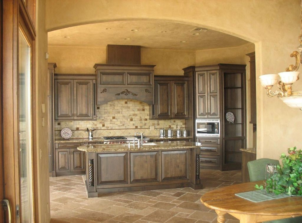 Awesome Tuscan Kitchen Decoration Ideas 18