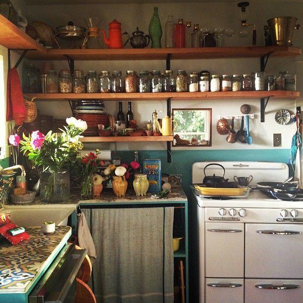 Beautiful Bohemian Style Kitchen Decoration Ideas 03