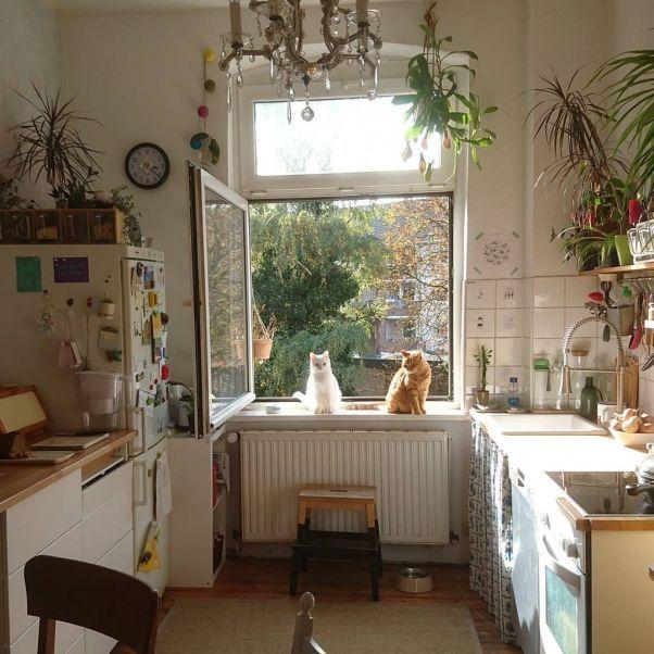 Beautiful Bohemian Style Kitchen Decoration Ideas 12