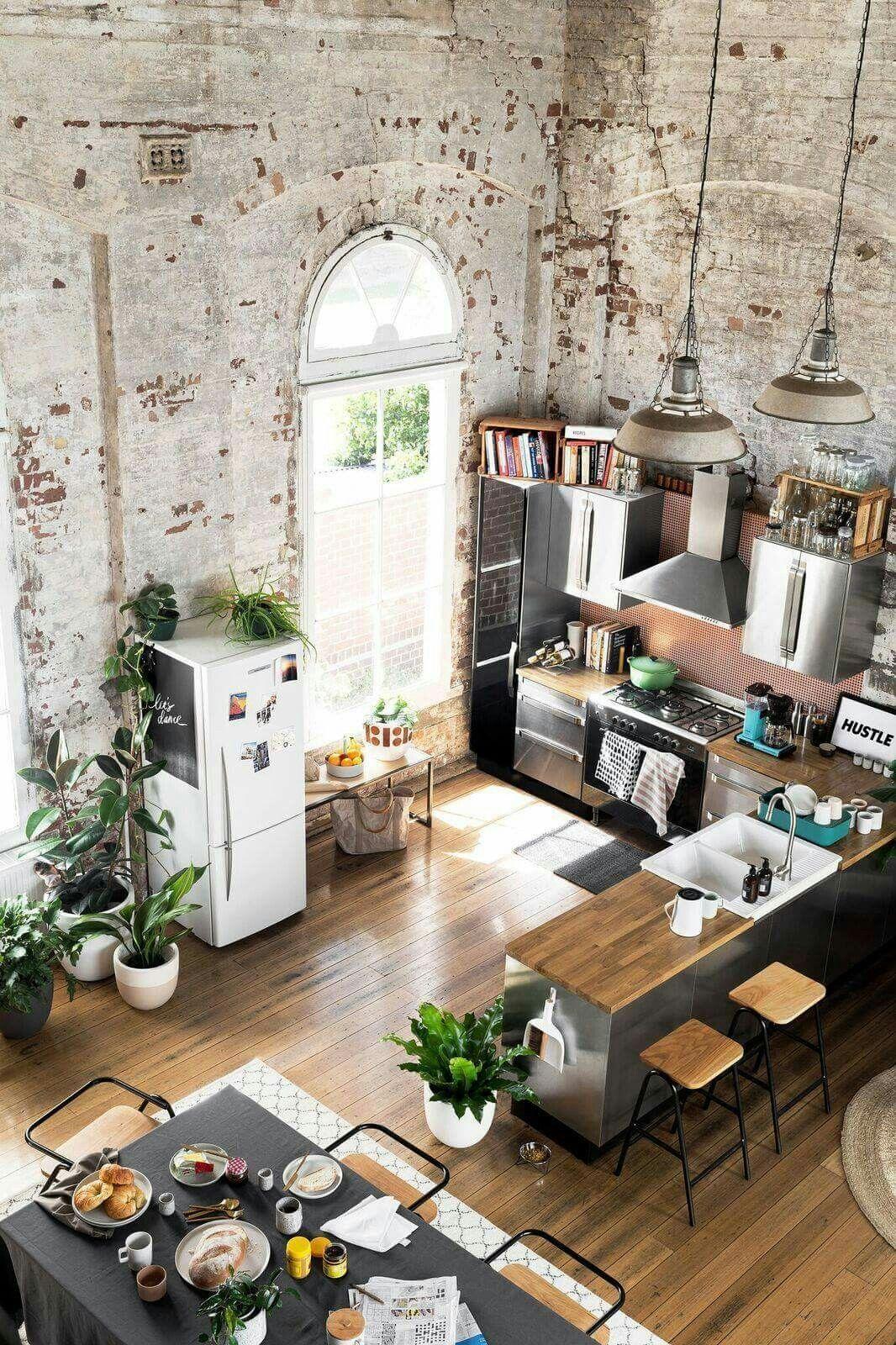 Beautiful Bohemian Style Kitchen Decoration Ideas 22