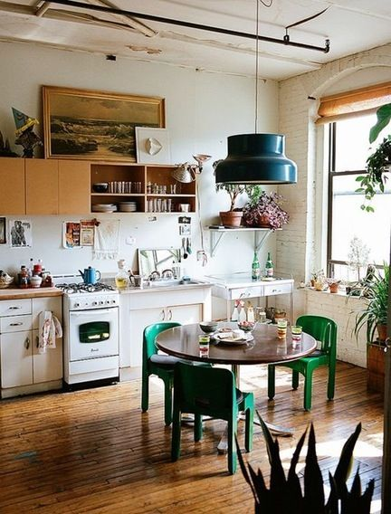 Beautiful Bohemian Style Kitchen Decoration Ideas 33
