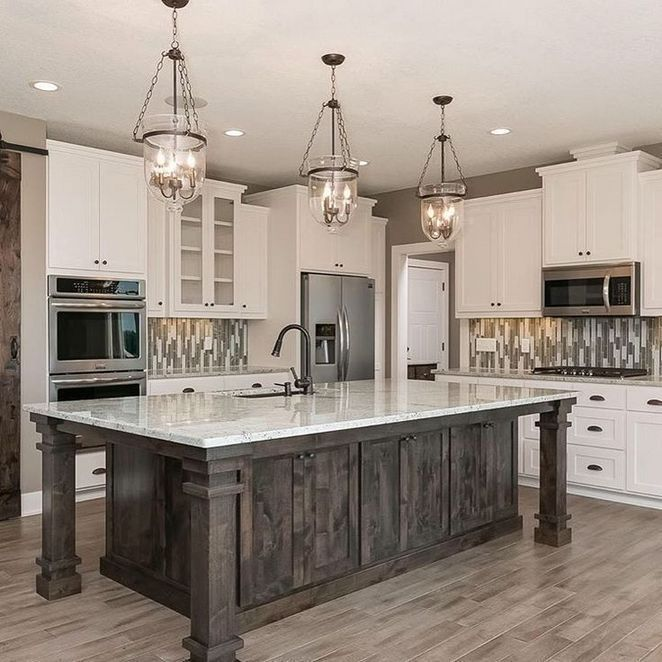Beautiful Kitchen Island Design Ideas 02