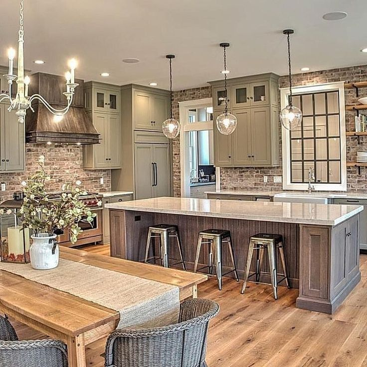 Beautiful Kitchen Island Design Ideas 19