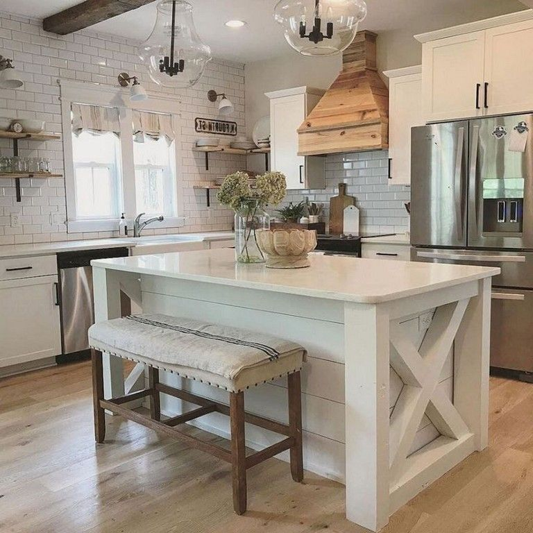 Beautiful Kitchen Island Design Ideas 23