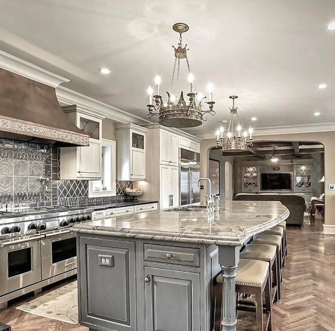 Beautiful Kitchen Island Design Ideas 25