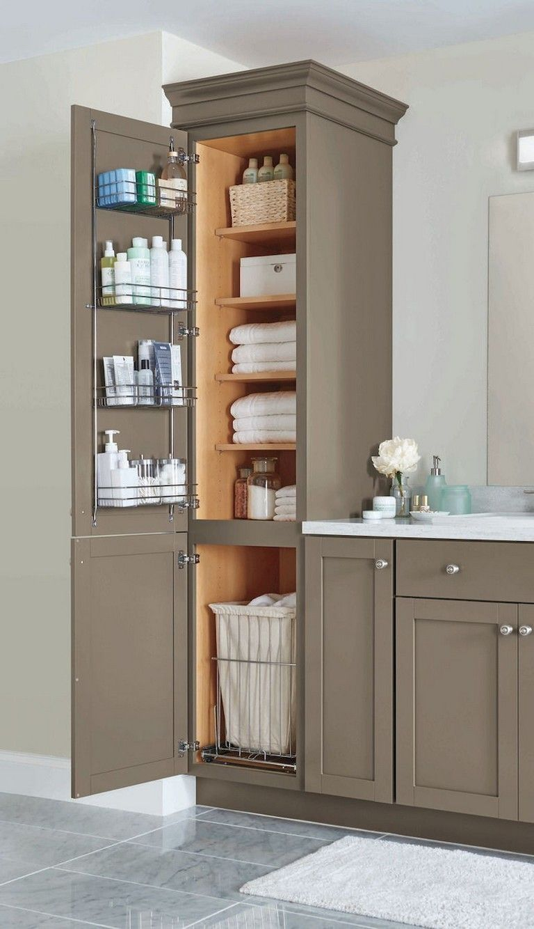 Fabulous Bathroom Cabinets Design Ideas 01