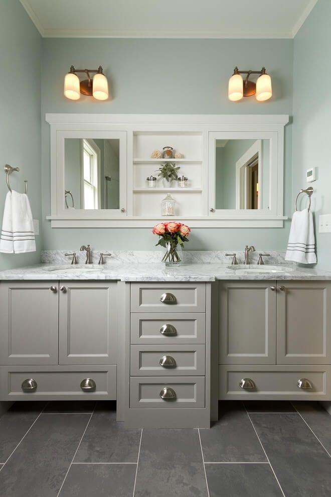 Fabulous Bathroom Cabinets Design Ideas 17