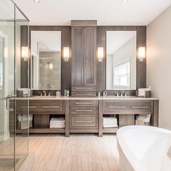Fabulous Bathroom Cabinets Design Ideas 23 1