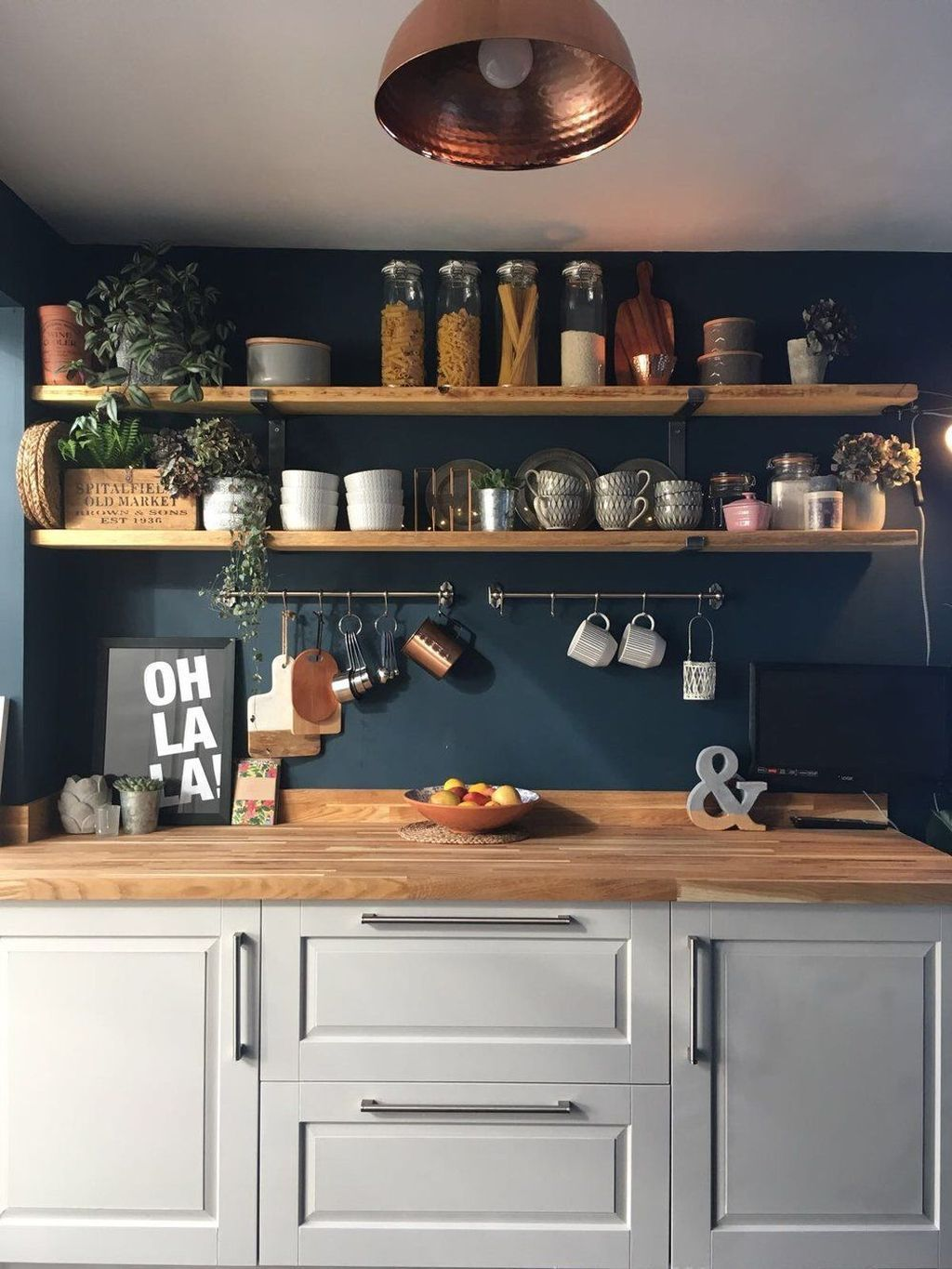 Gorgeous Kitchen Wall Decor Ideas 13