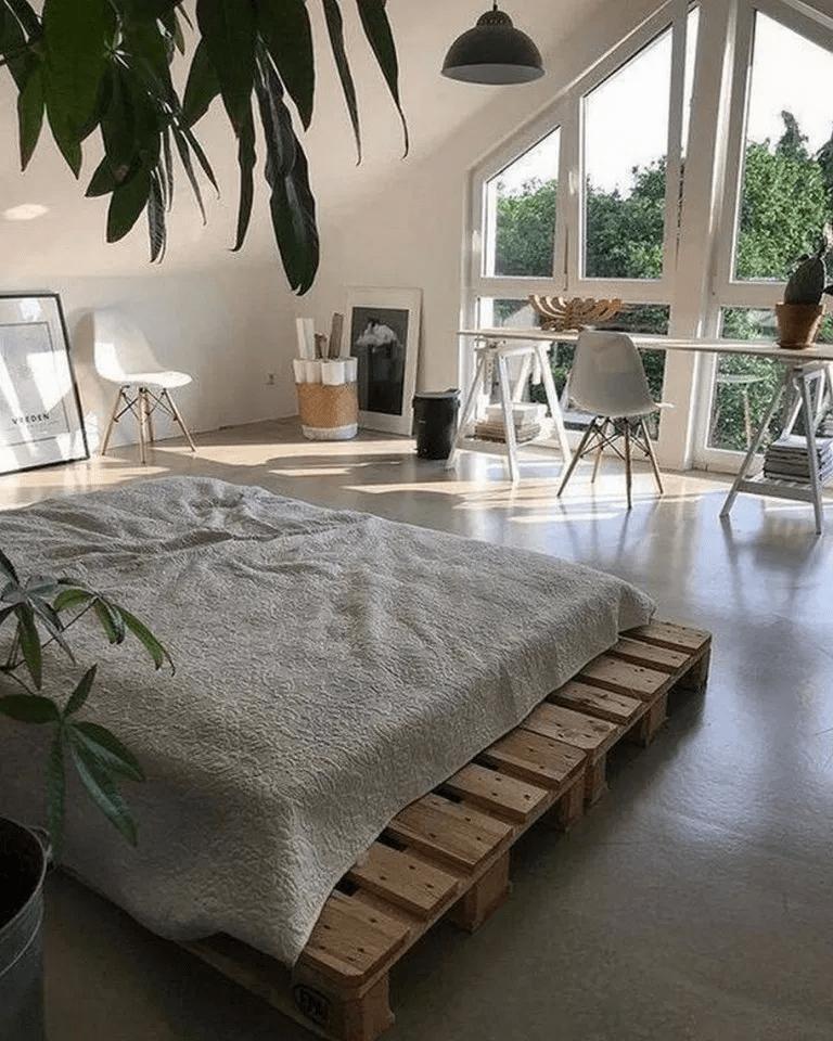 Gorgeous Minimalist Bedroom Decor Ideas 02