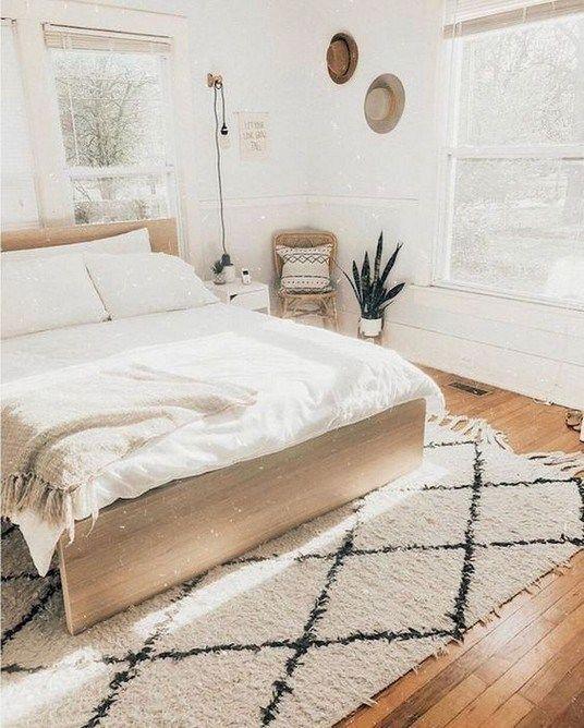 Gorgeous Minimalist Bedroom Decor Ideas 08