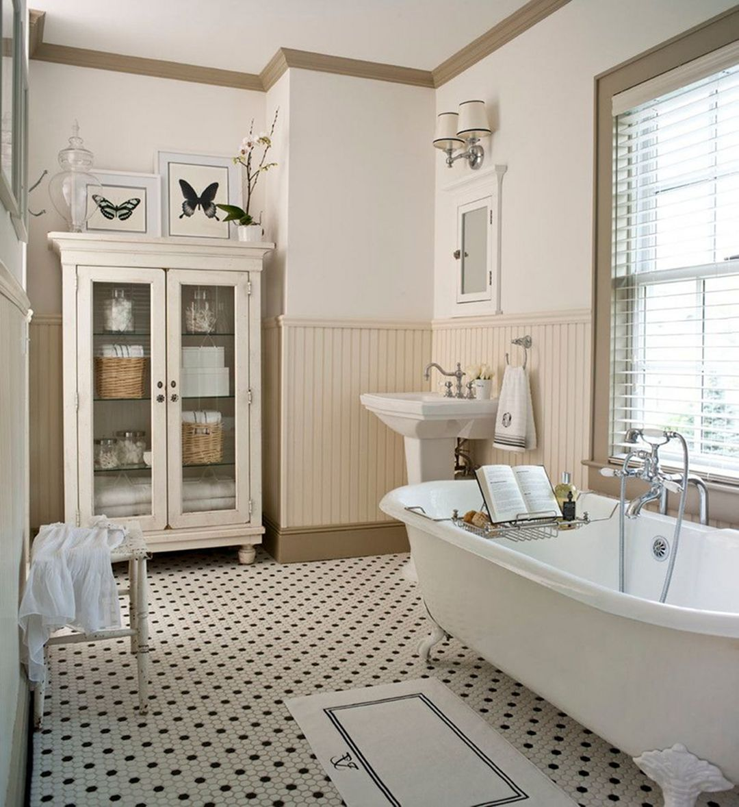 Gorgeous Traditional Bathroom Design Ideas 15