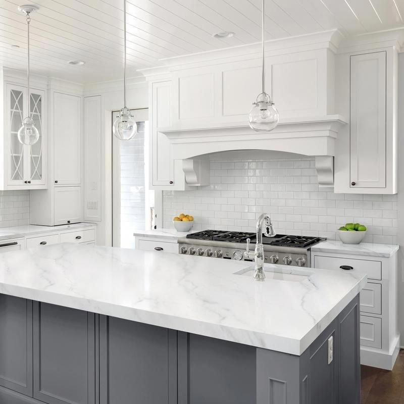 Inspiring White Kitchen Design Ideas With Luxury Accent 04