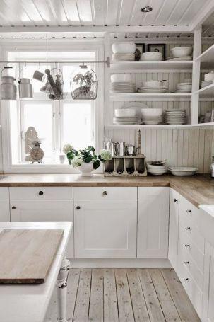 Inspiring White Kitchen Design Ideas With Luxury Accent 18