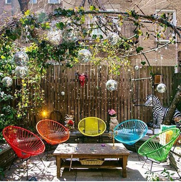 Lovely Bohemian Style Ideas For Your Outdoor Design 08
