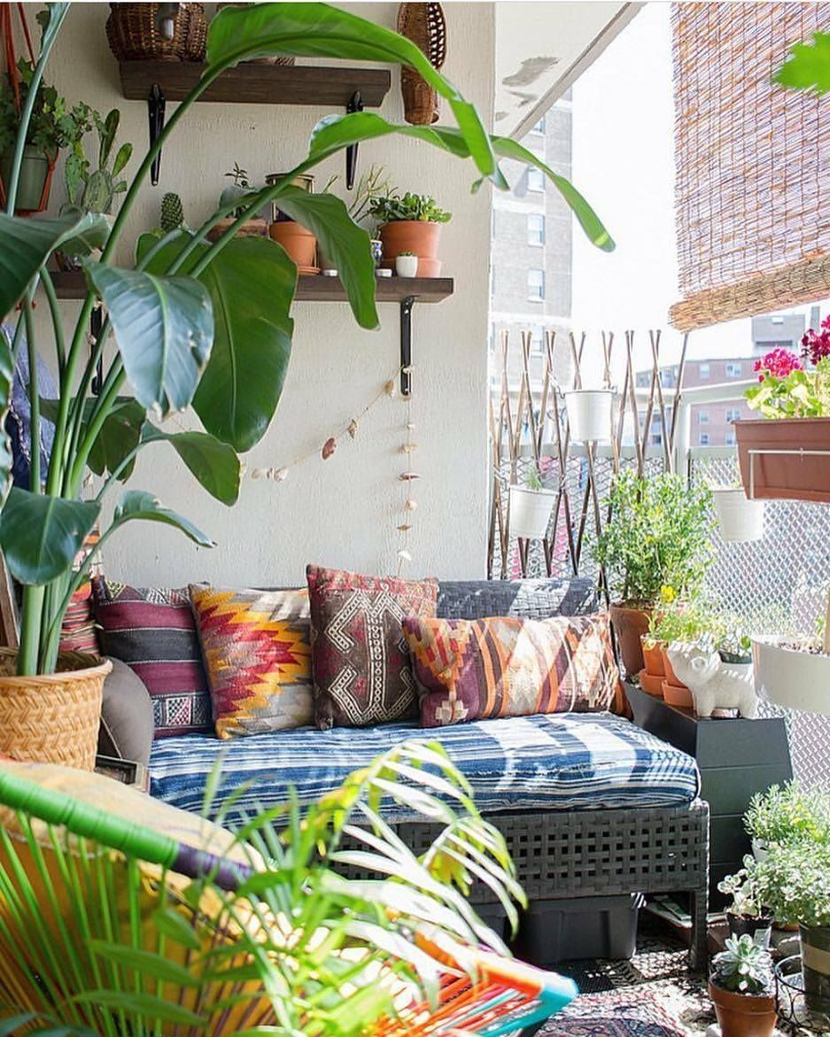 Lovely Bohemian Style Ideas For Your Outdoor Design 13
