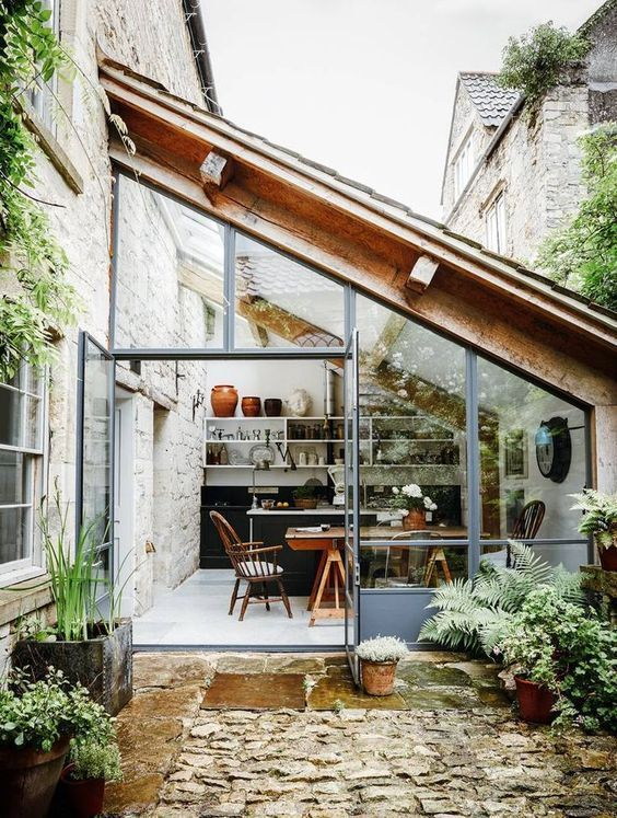 Lovely Bohemian Style Ideas For Your Outdoor Design 25