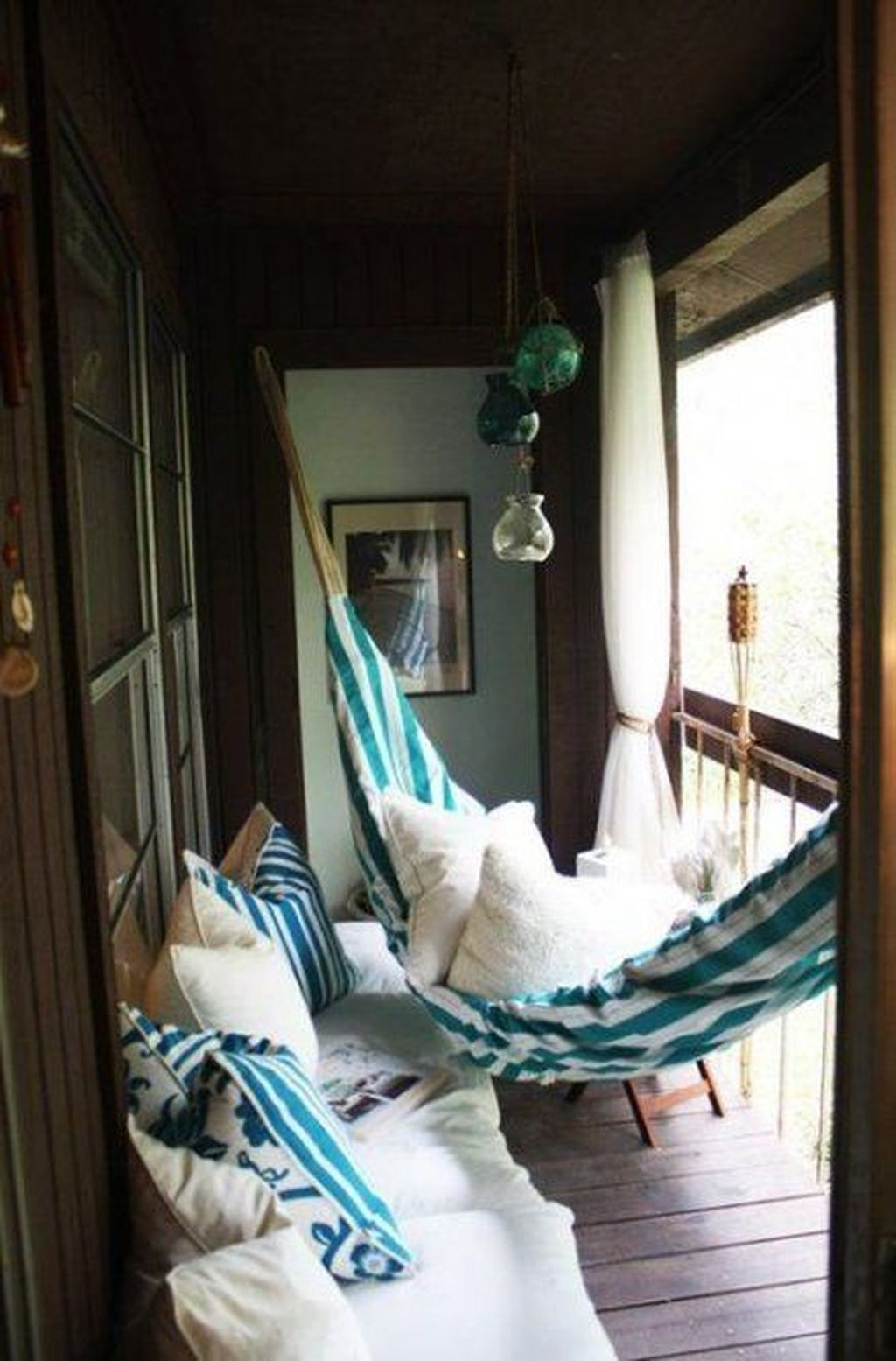 Lovely Small Porch Apartment Balconies Ideas 26
