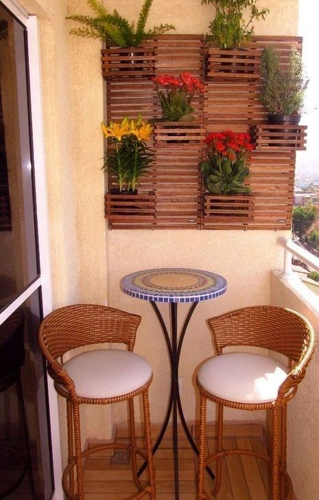 Lovely Small Porch Apartment Balconies Ideas 35