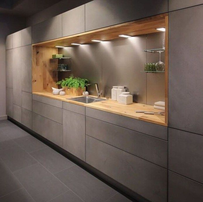 Nice Modern Kitchen Design And Decor Ideas 12