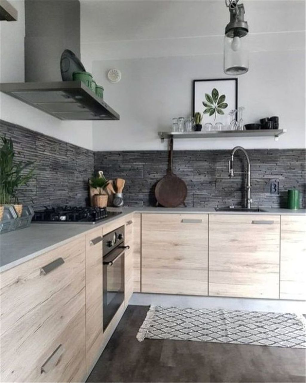 Nice Modern Kitchen Design And Decor Ideas 29