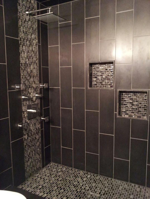 Nice Tile Shower Ideas For Your Bathroom 06
