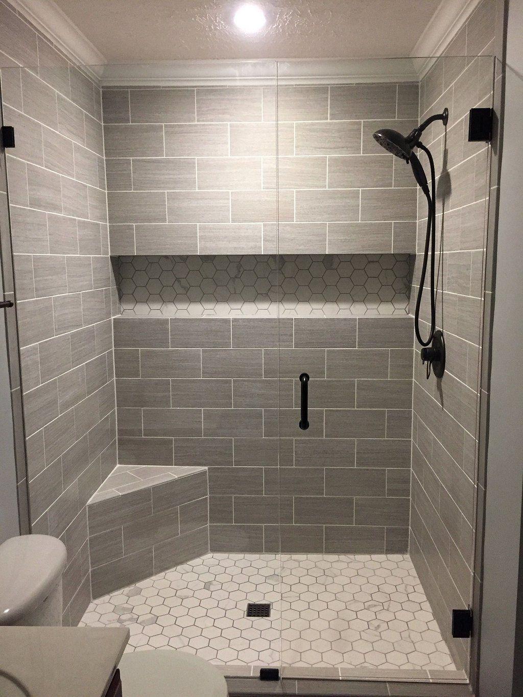 Nice Tile Shower Ideas For Your Bathroom 10