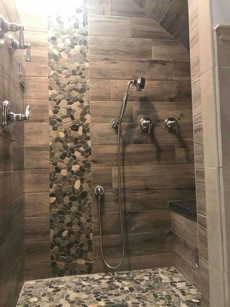Nice Tile Shower Ideas For Your Bathroom 12