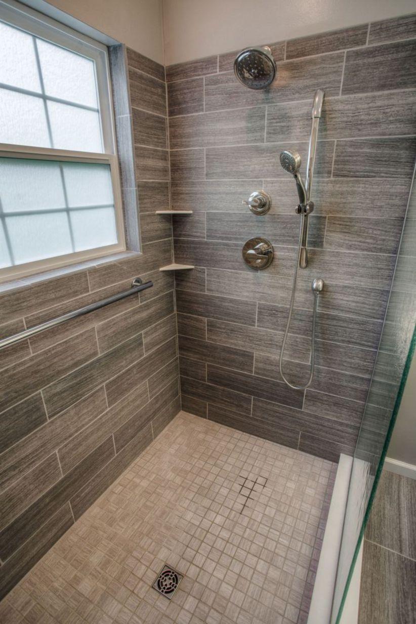 Nice Tile Shower Ideas For Your Bathroom 22