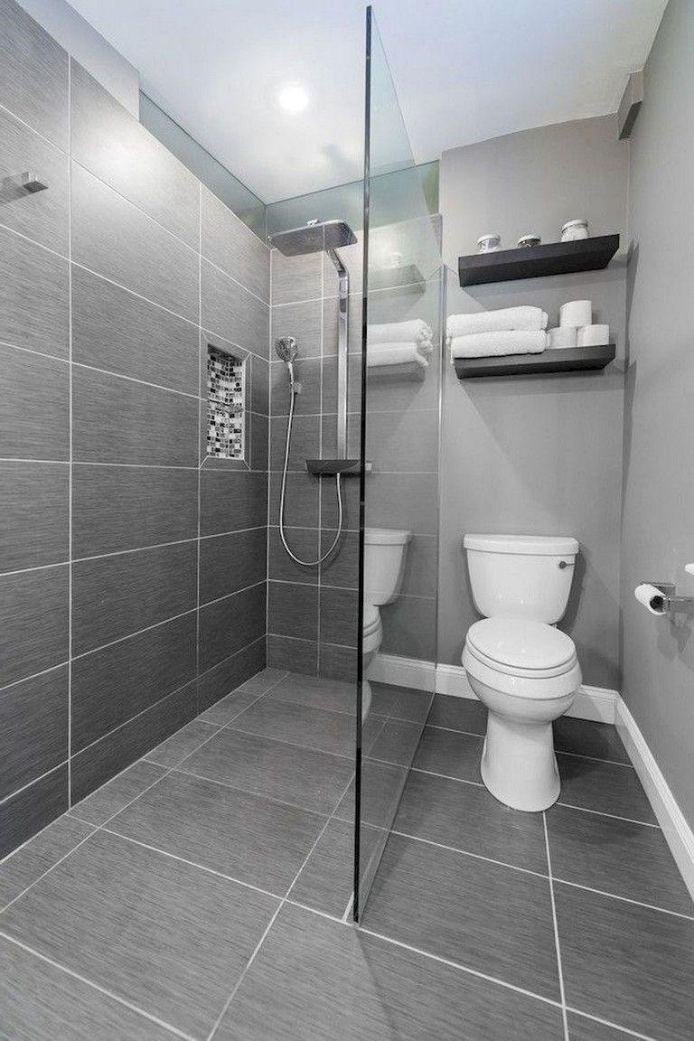 Nice Tile Shower Ideas For Your Bathroom 31