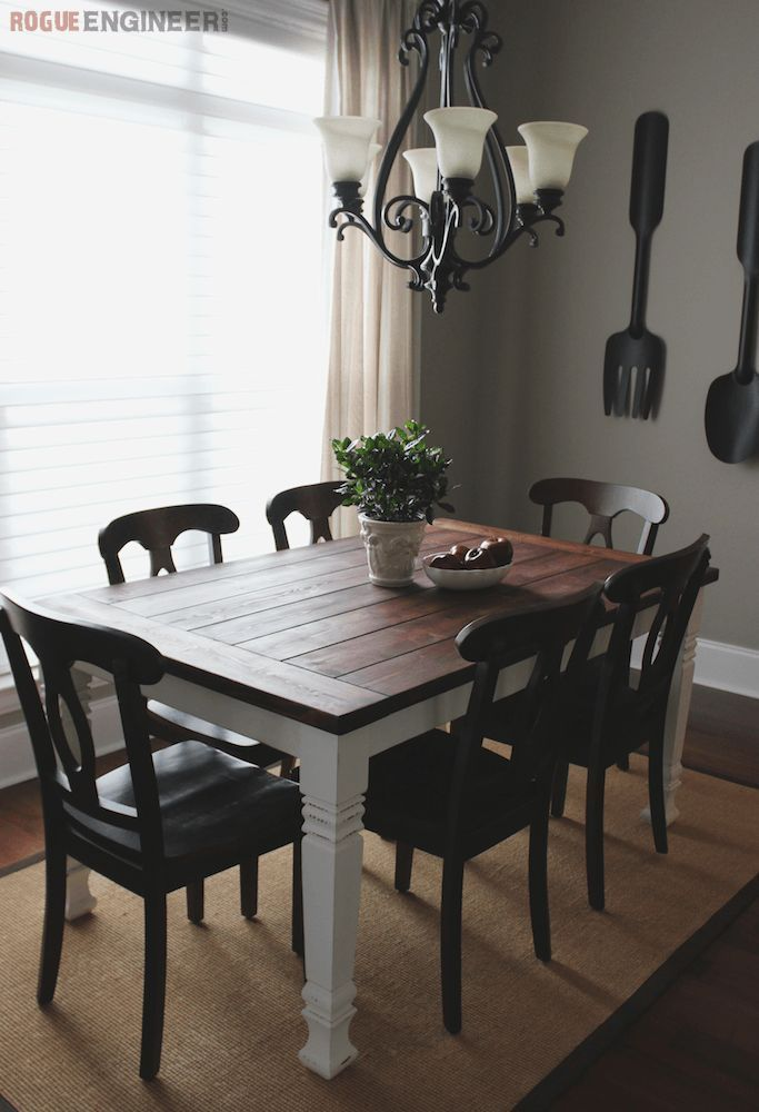 Popular Rustic Farmhouse Style Ideas For Dining Room Decor 07