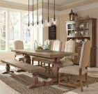 Popular Rustic Farmhouse Style Ideas For Dining Room Decor 34