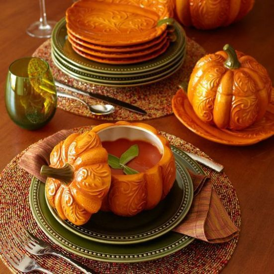 Popular Thanksgiving Table Decorating Ideas Beautiful Look 01
