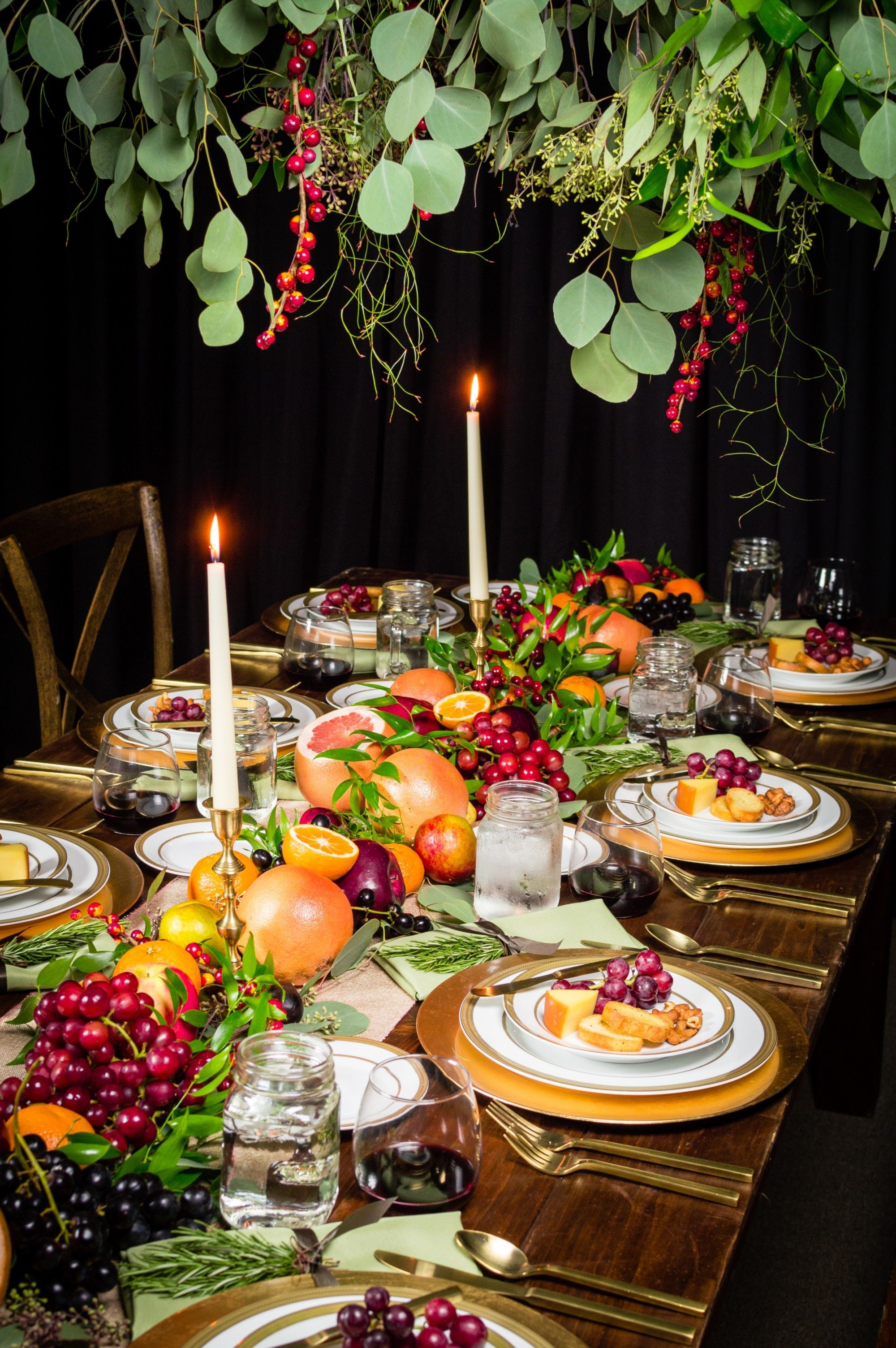 Popular Thanksgiving Table Decorating Ideas Beautiful Look 14