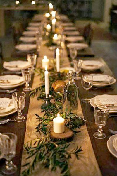 Popular Thanksgiving Table Decorating Ideas Beautiful Look 27
