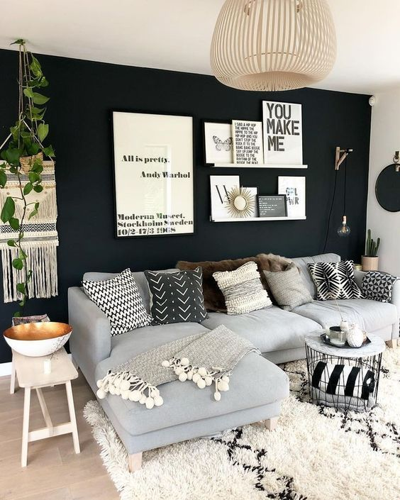 Stunning Living Room Wall Decoration Ideas 07