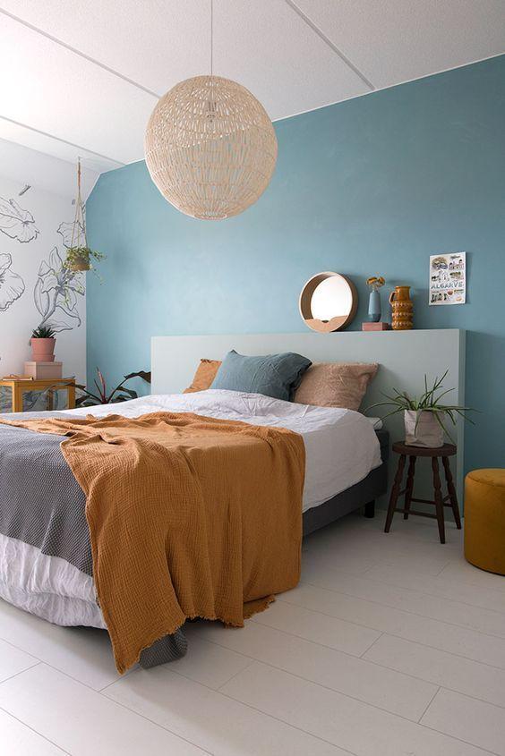 Stunning Modern Colorful Bedroom Decor Ideas 05