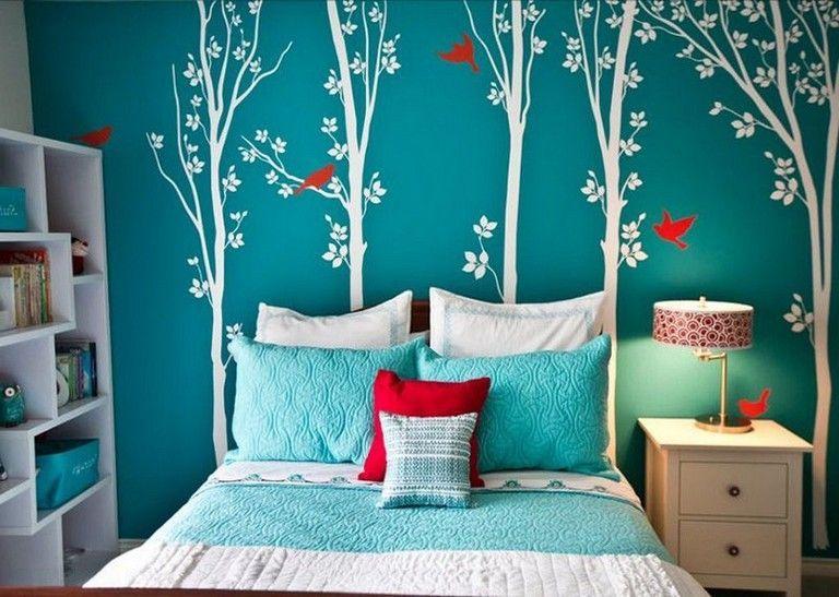 Stunning Modern Colorful Bedroom Decor Ideas 07