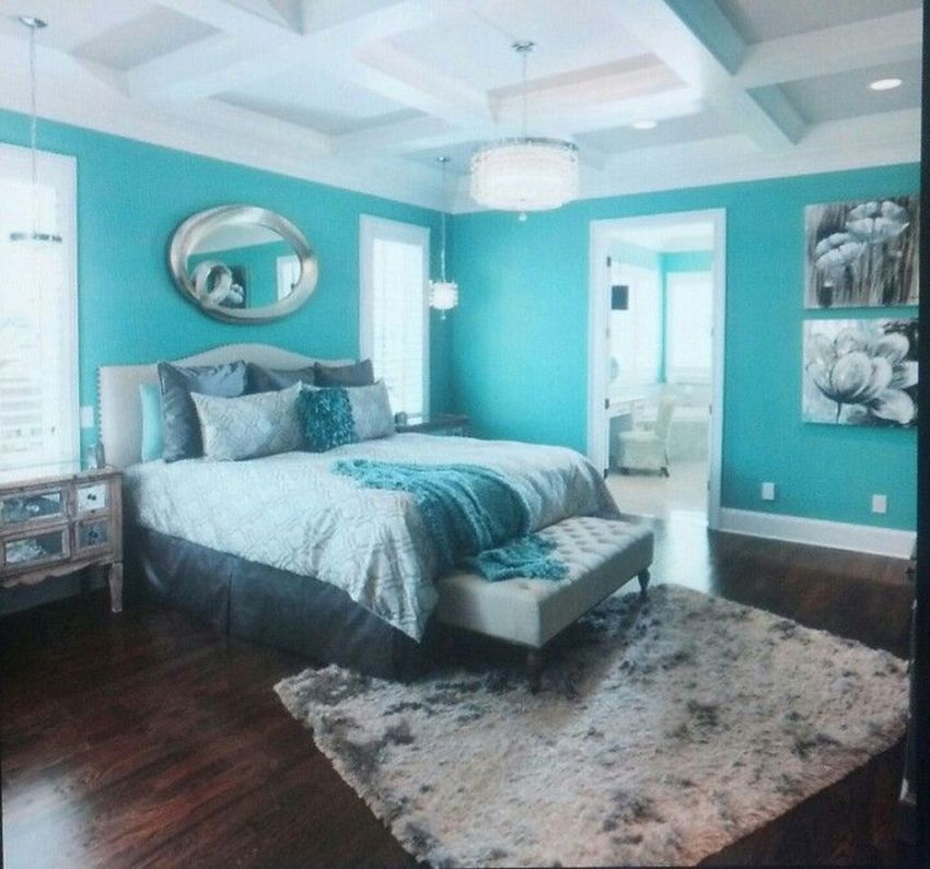 Stunning Modern Colorful Bedroom Decor Ideas 23